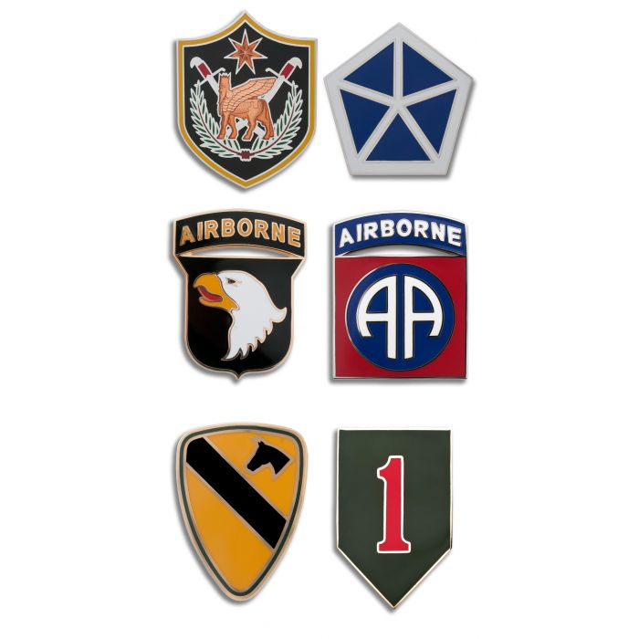 Selection of Army CSIB's (Combat Service Identification