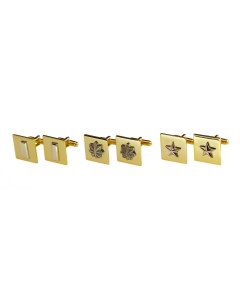 Officer Insignia Cuff Links