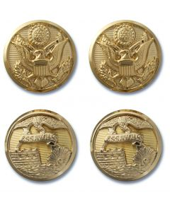 Army Service Uniform and Mess Uniform Buttons