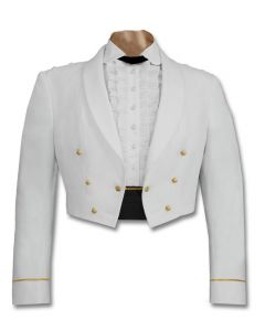 Female Enlisted Army White Mess Jacket