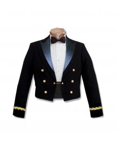 Male General Officer Blue Mess Jacket