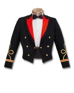 Male Officer Blue Mess Jacket