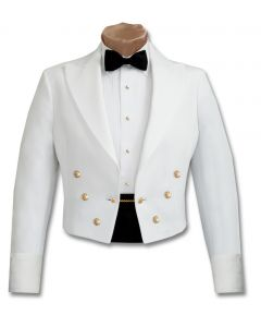 Male General Officer Army White Mess Jacket