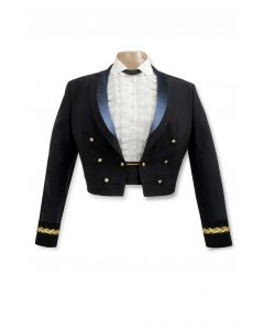 Female General Officer Blue Mess Jacket