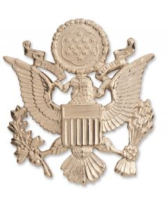 Army Non-Tarnish Officer Cap Insignia