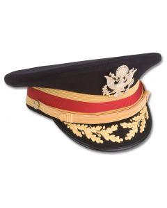 CLEARANCE Male FG Officer ASU Cap - Nylon brim, Premium™ fabric