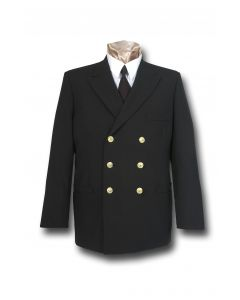 First Responder Double-Breasted Dress Coat