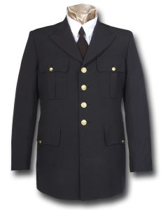 First Responder Four-Button Dress Coat