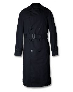 Midnight Blue Raincoat