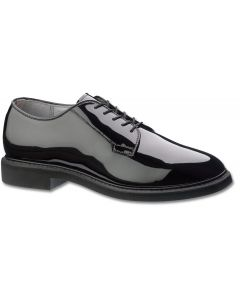 Men's Black High Gloss Low Quarter Shoe