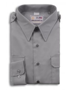 Overstock - Male Gray Long Sleeve Shirt