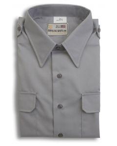 Overstock – Male Gray Short Sleeve Shirt