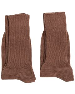Package of 3-Pair Taupe Socks, AGSU
