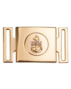 USN CPO Cutlass Belt Buckle