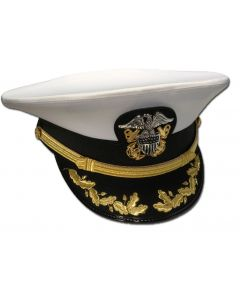 Male CAPT-CDR Combination Hat