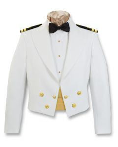 Navy Male Dinner Dress White Jacket