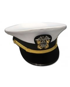 Male WO-LCDR Combination Hat