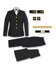 Female Navy Service Dress Blue Commissioning Package