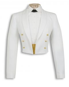 Clearance USPHS Female Dinner Dress White Jacket
