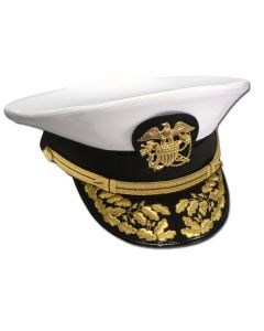 USPHS Male Flag-Officer Combination Hat