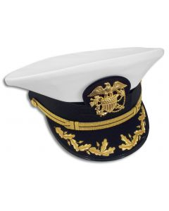 USPHS Male CAPT-CDR Combination Hat