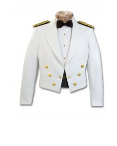 USPHS Male Dinner Dress White Jacket