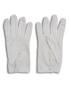 White Grip Gloves
