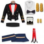 Male Officer Blue Mess Package