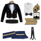 Male Enlisted Blue Mess Package