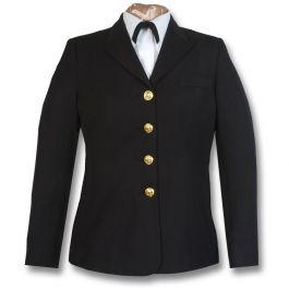 Usphs Female Service Dress Blue Coat