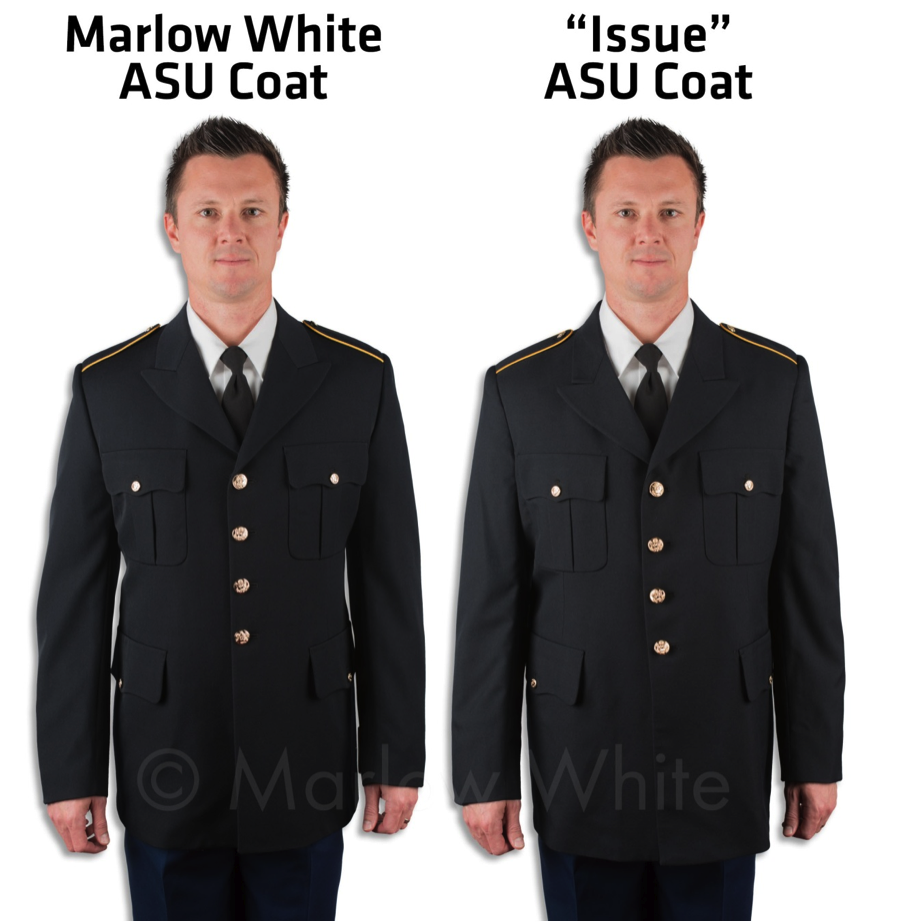 Enlisted Army Asu Setup Measurements