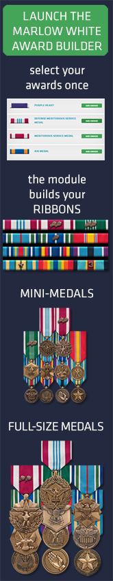 Army Awards: Wear of Miniature Decorations and Service Medals