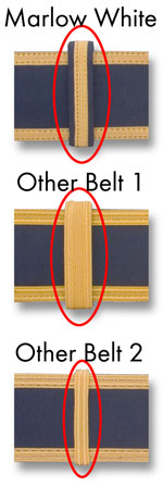Fabric belt keepers - click for a higher resolution view