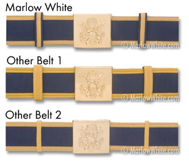 Belt Color Variations: click for a closer look