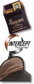 Photo: intercept-lined products from Marlow White