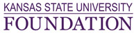 Kansas State University Foundation logo.