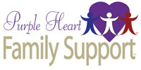 Purple Heart Family Support logo.