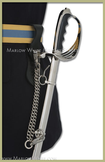 How to wear the US Army Officer Saber, by Marlow White