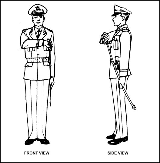 Figure F-3. Draw Saber (Sword).