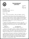Marine Corps Systems Command Certification Letter