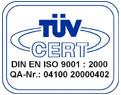 WKC: DIN ISO 9002 Certified