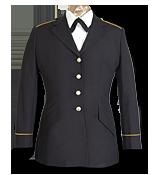 Service (Blue) Uniform Center