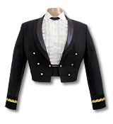 Blue Mess Uniform